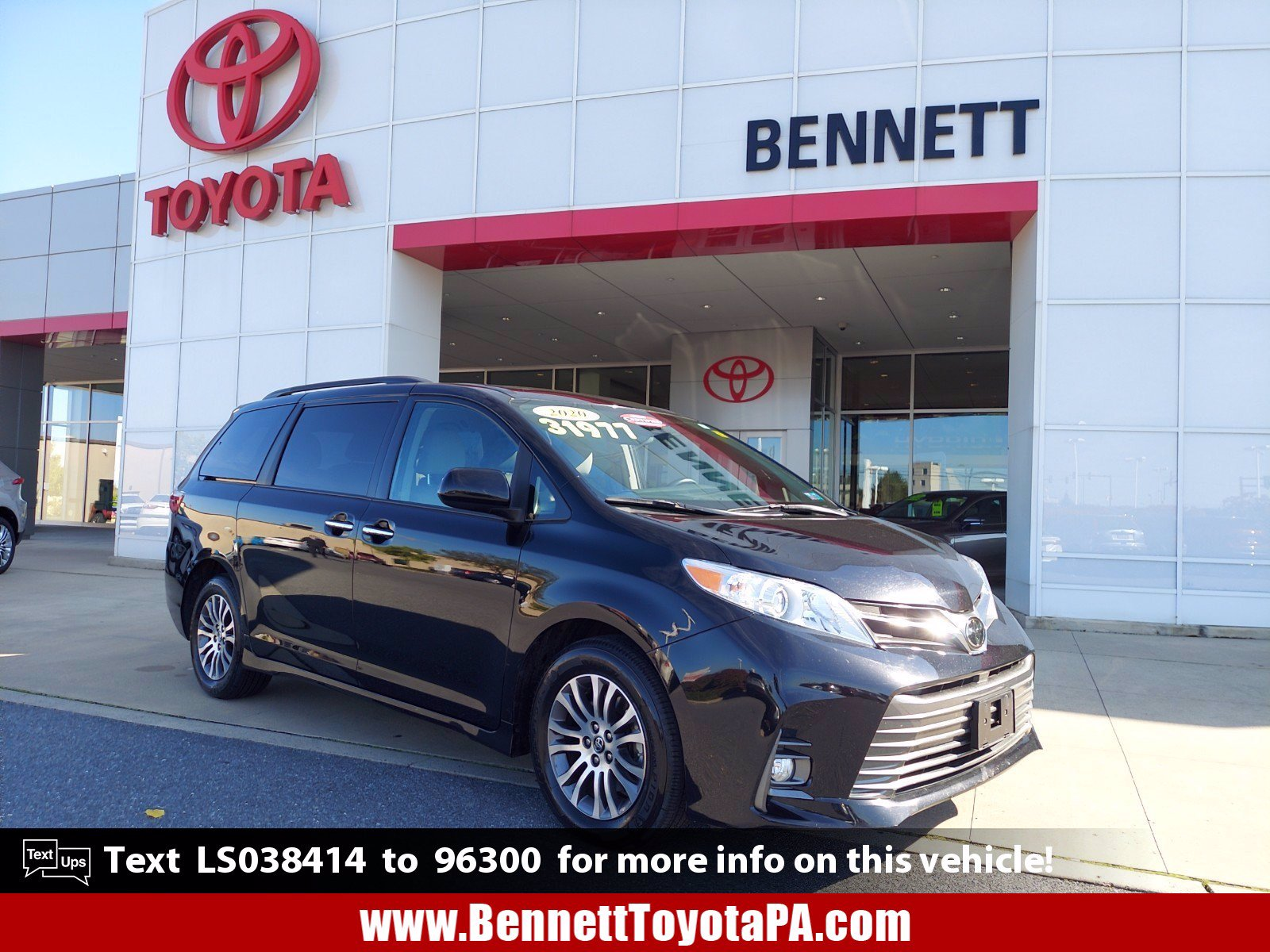 certified pre owned 2020 toyota sienna xle mini van passenger in 46103 bennett automotive group certified pre owned 2020 toyota sienna xle mini van passenger in 46103 bennett automotive group